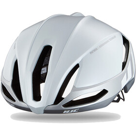HJC Furion Kask rowerowy, gloss white/silver